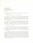 Walter Morrison, Letter to Paul Delany, Senior Editor of the New York Times