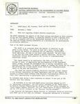 Memorandum from Dr. Benjamin Hooks, NCAA Rule Regarding Student Athletes Eligibility, Washington D.C.