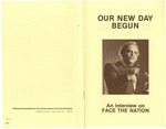 Dr. Benjamin Hooks, Our New Day Begun, An Interview on Face the Nation, Washington D.C.