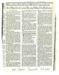 Newspaper Op-Ed, Linda Williams,