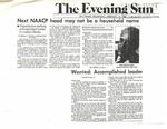 Newspaper Article, Michael A. Fletcher and Bruce Reid,