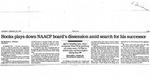 Newspaper Article, Michael A. Fletcher,