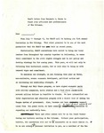 Draft Letter from Dr. Benjamin Hooks to Black City Official and Professionals of New Orleans