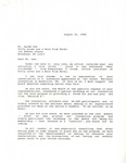 Dr. Benjamin Hooks, Letter to Spike Lee after NAACP Convention Cancellation, Baltimore, Maryland