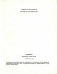 The National Urban League, Summaries of Major Papers in