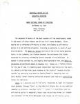 Dr. Benjamin Hooks, Quarterly Report of the Executive Director to the NAACP National Board of Directors, New York, New York City