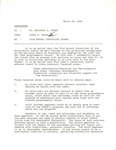 Memorandum to Dr. Benjamin Hooks on the 73rd Annual NAACP Convention Format