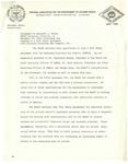 Dr. Benjamin Hooks, Statement on Fair Share Agreement with Arkansas-Louisiana Gas Company, Brooklyn, New York
