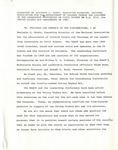 Dr. Benjamin Hooks, Statement on the Voting Rights Act of 1981, Washington D.C.