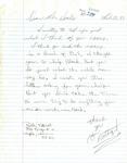 Letter from Ruth Karst, Minneapolis, Minnesota