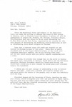 Letter from Bernistine Little to Jesse Jackson