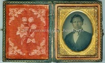 Photography Ambrotypes: Young African American-Native American Man