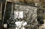 Photography: Childhood-Youth, Girls Playing in Backyard