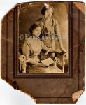 Photography: Cabinet Cards, Mother & Daughter Reading