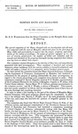 """Memphis Massacre, 1866: """"Reports of the Committees of the House of Representatives...1865-'66"""". Report and testimony"""