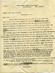 Letter to John Sharp Williams from Charles P. Simonton