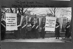 College day in the picket line at the White House