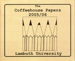 The Coffeehouse Papers, 2005/06, Lambuth university