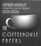 The Coffeehouse Papers, Lambuth University, Literary and Visual Art Magazine 1997-98