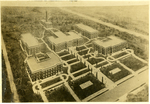 Architectural drawing of Lambuth College campus, early 1920s