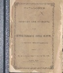 Memphis Conference Female Institute catalog, 1869