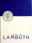 The Lantern yearbook, 1992
