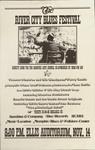 River City Blues Festival poster, 1973