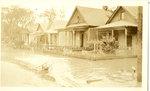 Flooded neighborhood, Memphis, 1927
