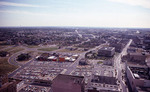 Aerial view of Memphis, Tennessee, 1979