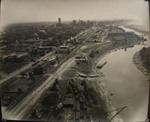 Downtown Memphis and the Wolf River, circa 1940