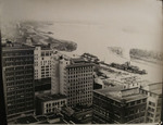 Downtown Memphis and the Mississippi River, circa 1935