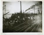 Mississippi riverfront, Memphis, 1909