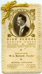 New Madrid High School senior class souvenir, 1901