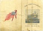 New Madrid public school entertainment program, 1901