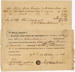 Doctor's account for services to slaves, Claiborne County, Mississippi, 1836
