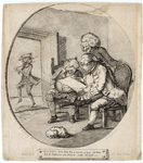 Henry William Bunbury, Fought all his battles o'er again and thrice he slew the slain, 1782