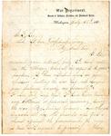 Maj. General Otis O. Howard letter, 1865
