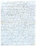 Capt. G.W. Gordon letter, 1862 August 7