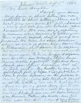 Capt. G.W. Gordon letter, 1862 August 5