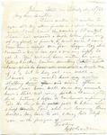 Capt. G.W. Gordon letter, 1862 May 29