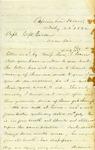 H.B. Titcomb letter to Capt. G.W. Gordon, 1862 July 23