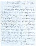 Capt. G.W. Gordon letter, 1862 May 15