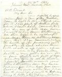 Capt. G.W. Gordon letter, 1862 July 14