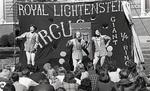 Royal Lichtenstein Circus performing on MSU campus, 1975