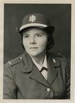 First Memphis State University female graduate commissioned in the U.S. Army, 1975