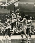 Memphis State University basketball player Ronnie Robinson, 1972