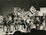 """Production of """"Hair"""" at Memphis State University, 1970"""
