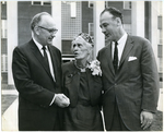 Dedication of Nellie Angel Smith Hall, Memphis State University, 1962