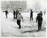 MSU snowball fight, 1960