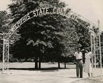 Memphis State College entrance, Memphis, 1950